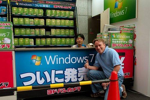 Линус Торвальдс доволен выходом Windows 7
